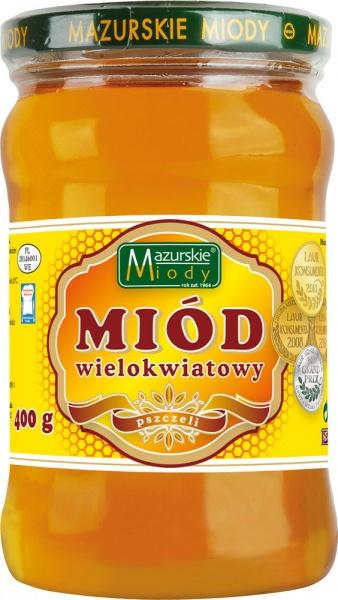 Miód wielokwiatowy Mazurskie Miody