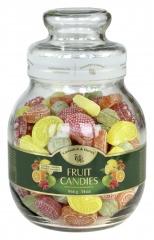 Cukierki Fruit Candies Fruchtbonbons słoik