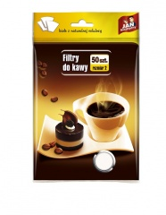 Filtry do kawy rozm-2 50szt. Jan Niezbędny