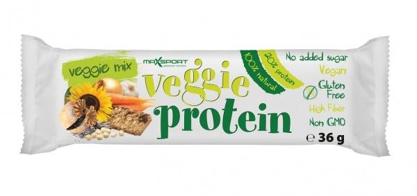 Baton bezglutenowy z nasion i warzyw