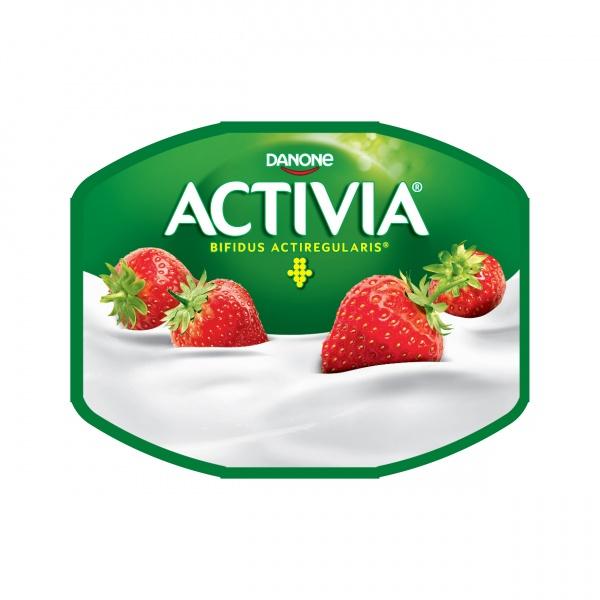 ACTIVIA Single 120g truskawka