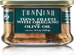Filety z tuńczyka z oregano 190 g