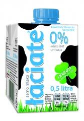 Mleko UHT Łaciate 0%, 500ml