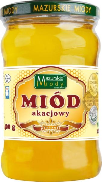 Miód akacjowy Mazurskie Miody
