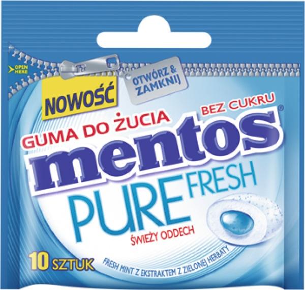 MENTOS PURE FRESH MINT MINI 15G