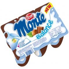 Deser Monte Balance mleczny 6*55g