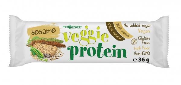 Baton bezglutenowy z nasion i warzyw z sezamem