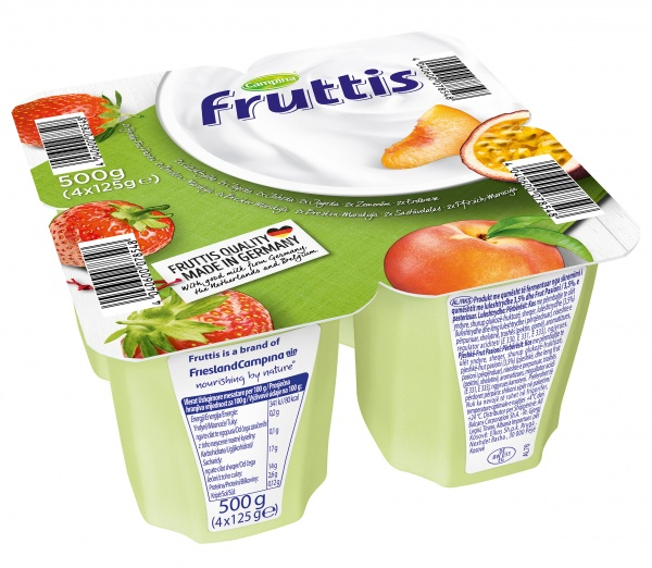 Deser frutis brzoskwinia marakuja truskawka.